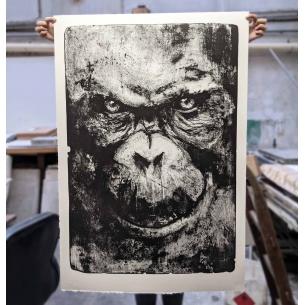 Lithographie Originale -...