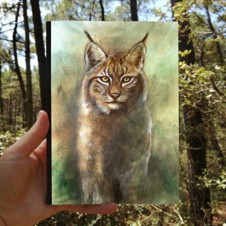 Carnet de croquis Lynx
